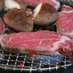 牛銀本店 - 最高級松阪牛のあみ焼き