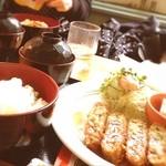 喫茶ぐるんぱ - ミンチカツランチ〜♡