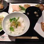創作料理と炭火焼の店雅 - 料理写真:月別ランチ 1000円