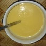 知久屋 - 料理写真:購入したコーンスープを温めて。