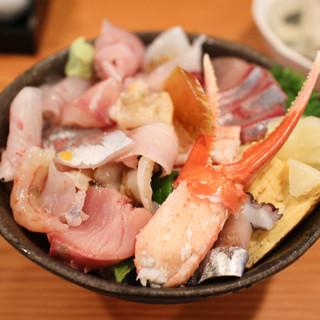幸寿し - 料理写真:能登丼☆