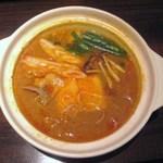 辰巳家 - 中華スープの特製キムチ鍋(1人前)
