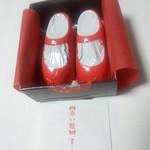赤レンガDepot - 赤い靴 280円 ※開封すると
