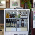 柳光亭 - ここで1本、サッポロ大瓶
