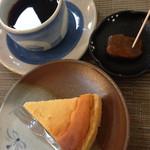 千の桜 - チーズケーキのセット
