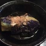 田中料理店 - 茄子のおひたし ※2014年11月