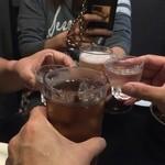 田中料理店 - 乾杯! ※2014年11月