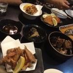 田中料理店 - ずら~~~っと並んだ和食! ※2014年11月