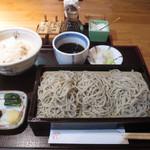 32529642 - 十割そば定食(¥1300円)