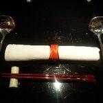 ASIAN BOWL 冬蔭激城麺 - テーブルセット