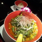 ASIAN BOWL 冬蔭激城麺 - 冬蔭激城麺とご飯