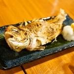 魚猫 - 2014.11 甘鯛の姿焼き(1,480円)