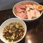 えびす丸 - 醤油つけ麺麺大盛チャーシュー