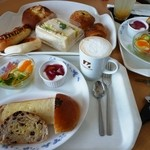 Bakery Cafe CAMELLIYA - モーニングセット(ドリンク料金+80円)