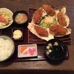 こくりこ - カキフライ定食