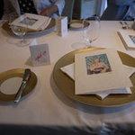 レストラン サンパウ - 細やかな気遣いが感じられるテーブルセット