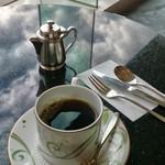 フォレスタ - ワッフルドリンクセットのコーヒー。