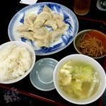 32542123 - 「水餃子12 ランチ」 960円