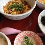 32542208 - ランチの麻婆豆腐