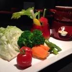 Cafe&Bar Vacation - 季節野菜のバーニャカウダ