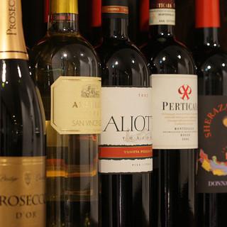 イタリアワインに特化したワインリスト