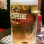 大黒ホルモン - 生ビール