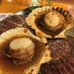 土佐わら焼き料理 みやも亭 - ホタテの醤油焼き
