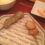 串処 最上 - 海老のしそ巻き&松茸〜❤︎