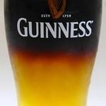 ※上記のビールとギネスを2トーンでハーフ&ハーフ