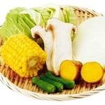 牛角 - 焼き野菜の盛り合わせ