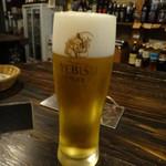 角打ちBarオリーブ - 生ビール