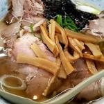 らあめん天山 - 塩チャーシュー麺