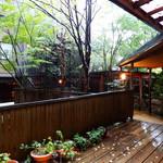 湯の里 葉山 - 大浴場へのアプローチ