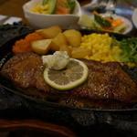 すてーきハウスチャッピイ - 料理写真:サービスステーキセット(150g)
