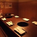 牛角 - 人気の半個室掘りごたつ式のお席です。8名様~10名様までご利用頂けます。