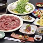 割烹 一の矢 - すき焼き宴会コース