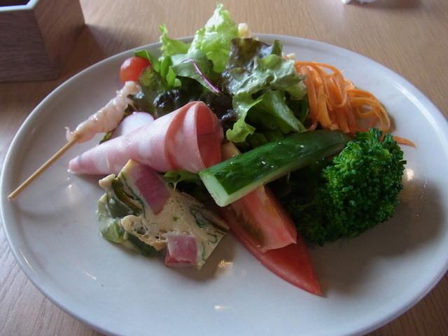 ノスタルジア - ランチ(1380円)の前菜