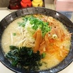 KAZZ - 味噌中落ち麺 800円