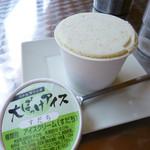 徳島ラーメン にし利 - おおぼっけアイス
