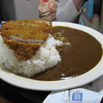 岡大裏カレーショップ Goal - カツカレー 550円