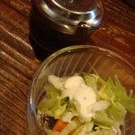 ヤマネコ - ランチのサラダ
