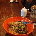 ヤマネコ - 牛肉と青菜のフォー(ご飯バージョン)800円