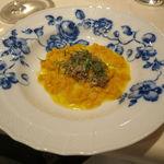 32560058 - 南瓜のスパッツェレ、鰯と茴香の煮込みのソース3