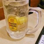 酒蔵 くろちゃん - 角ハイボール
