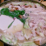 酒蔵 くろちゃん - 牛もつ鍋