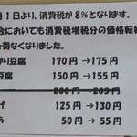 32562153 - 豆腐を売ってます