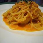 黒谷 - 渡り蟹のクリームトマトスパゲティーニ
