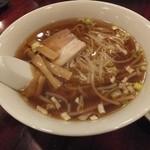 中国料理 安泰楼 - セットのラーメン
