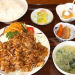 野麦 - 焼肉定食 980円