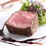 西村屋ホテル招月庭 レストランRicca - 但馬牛熟成肉の炭火焼ステーキ